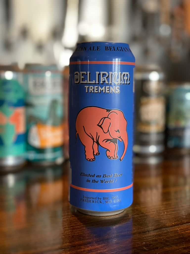 Delirium Tremens- Huyghe Brewery- 8.5% 12oz Draft