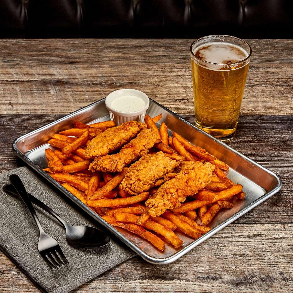 Chicken Tenders & Fries (4)