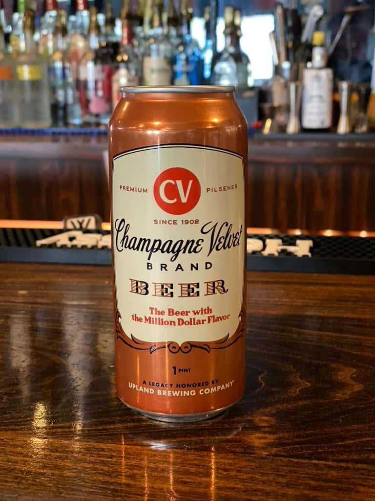 Champagne Velvet Pilsner - Upland Brewing - 4.9% Can