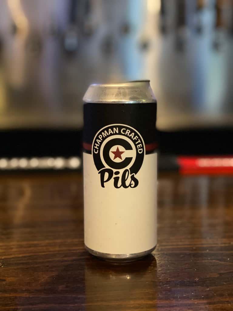 Chapman Pilsner- Chapman Crafted Beer DRAFT