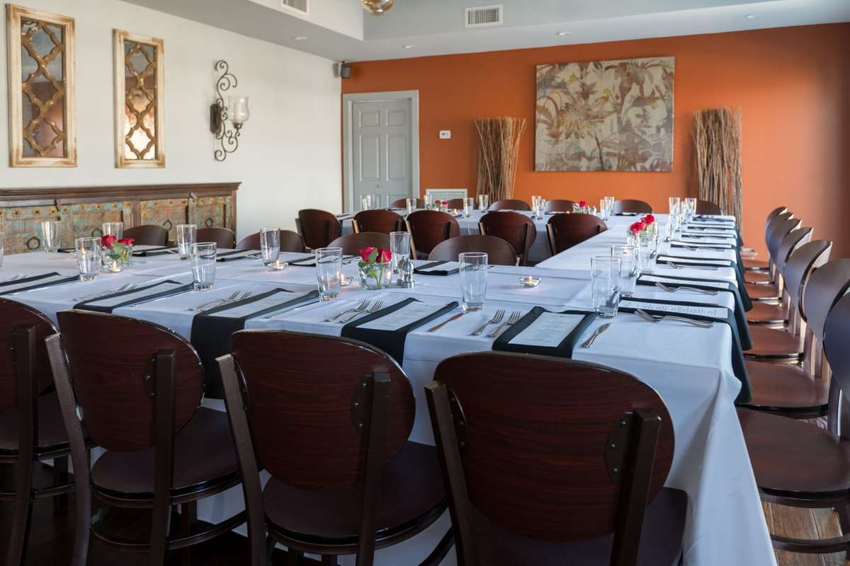 Gabe's Event Space - L Shaped Dining Table