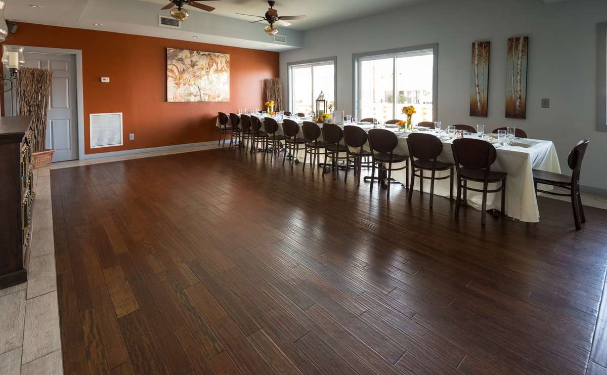 Gabe's Event Space - Dining Table and Open Floor