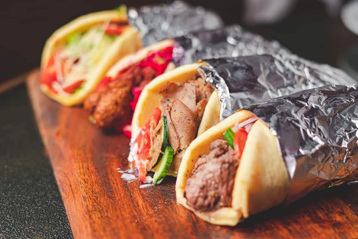 Shish Kebab sandwich