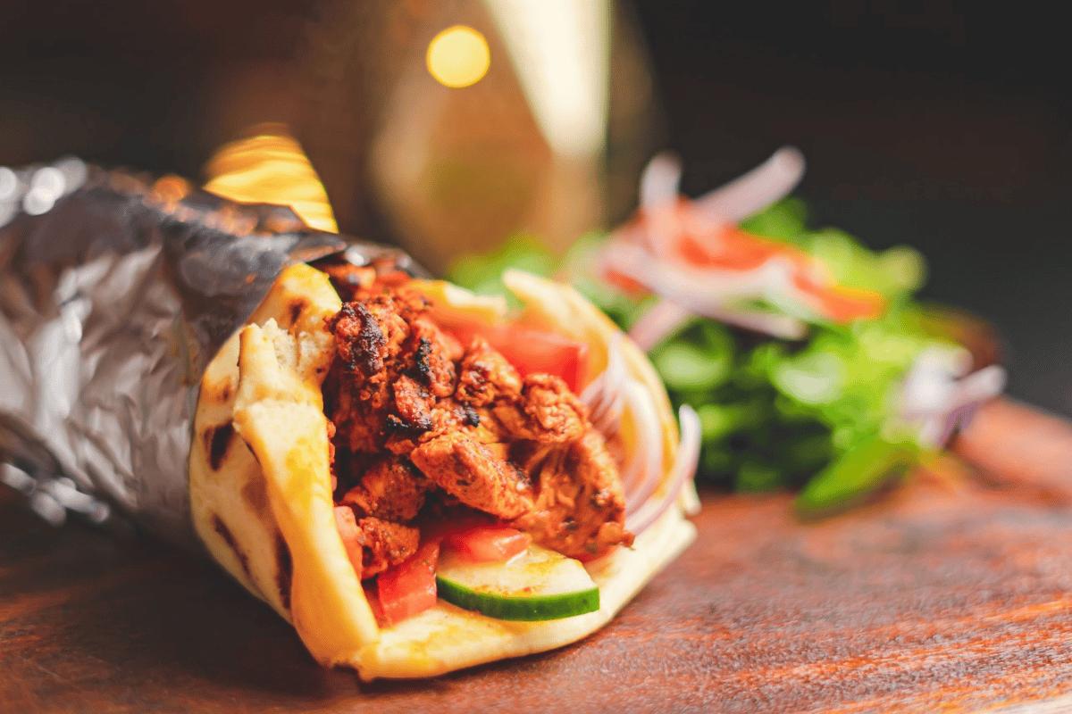 Moroccan Chicken sandwich