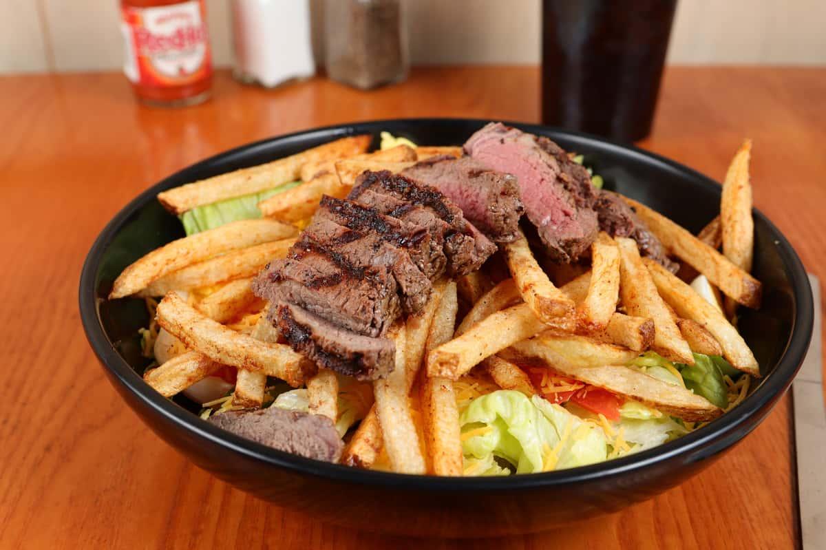 *Prime Angus Sirloin Steak Salad