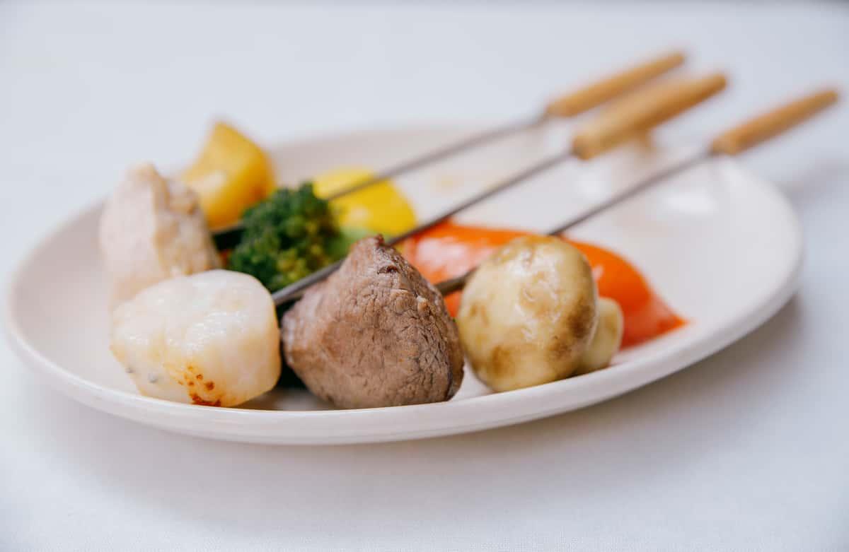 Beef Tenderloin with Fresh Sea Scallops