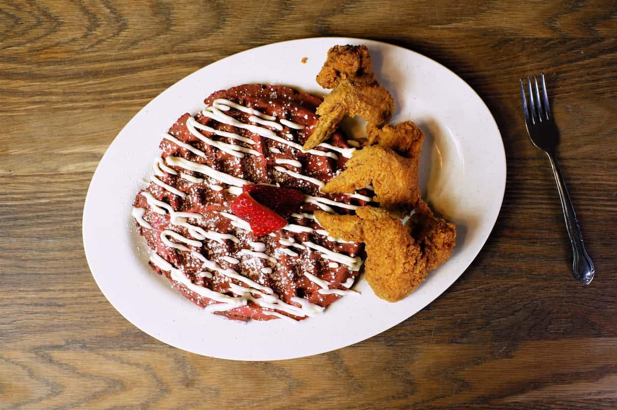Chicken & Gluten-Free Waffle