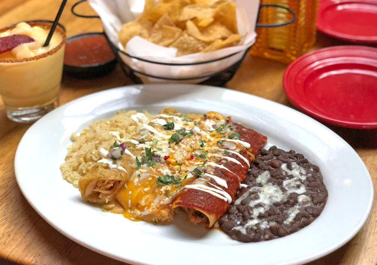 Ask us about our Enchiladas Banderas...
