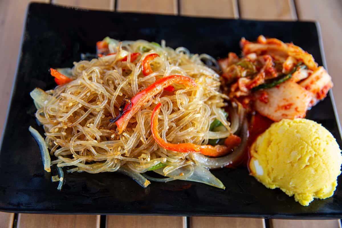 Japchae Glass Noodles