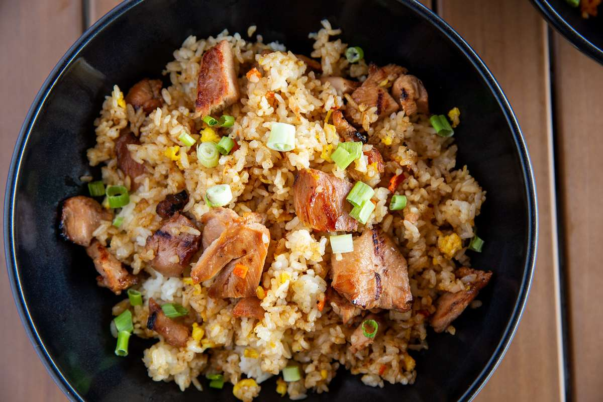 K-Town Fried Rice with Chicken