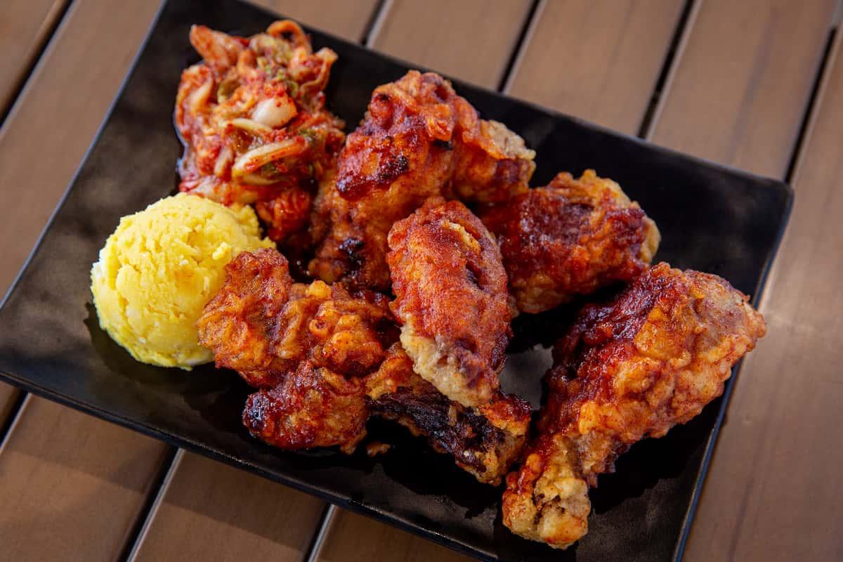 K-Town Fried Chicken Wings (5 Pc.)