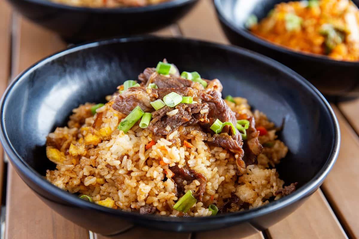 K-Town Fried Rice with Bulgogi Beef