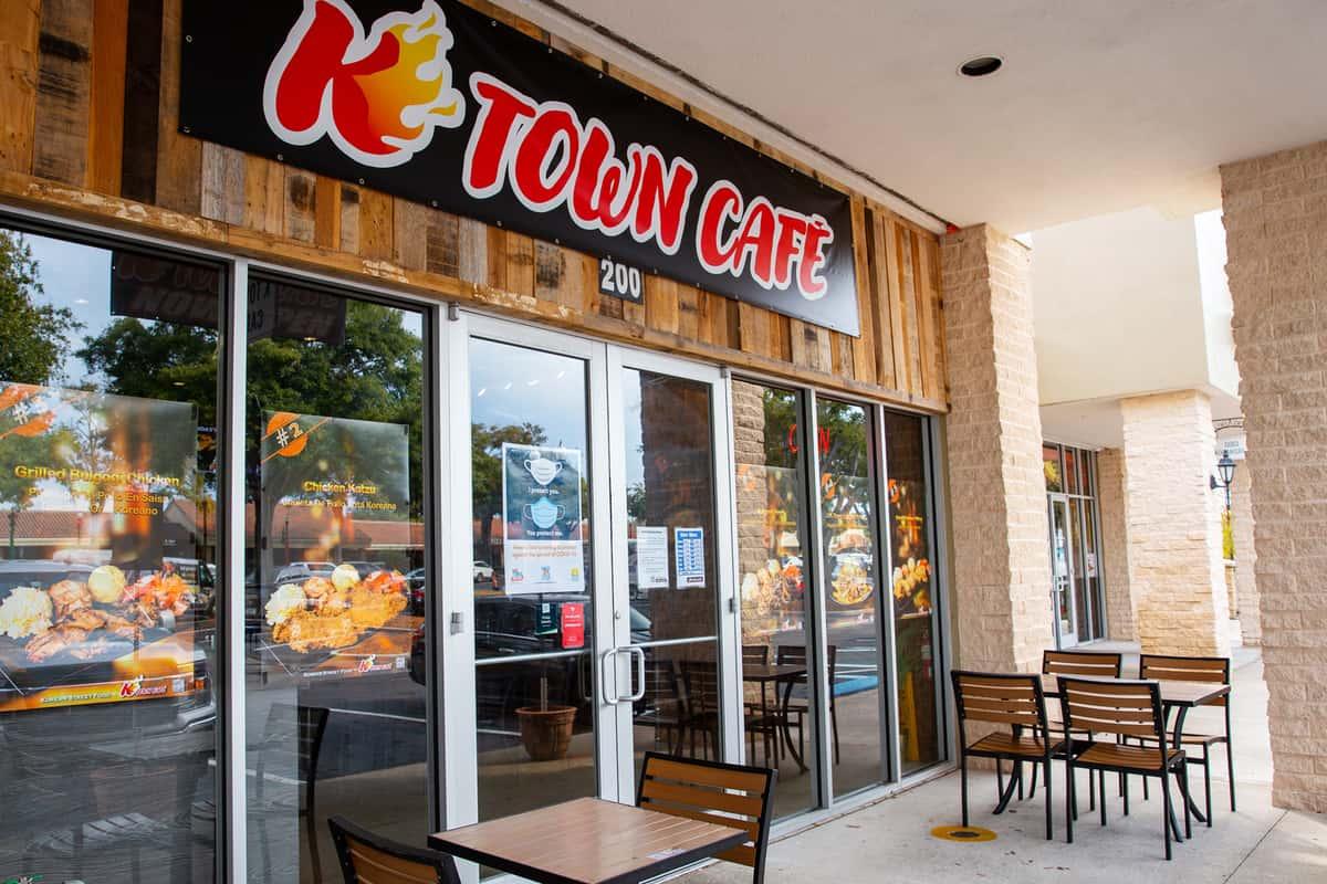 K-Town Cafe Exterior