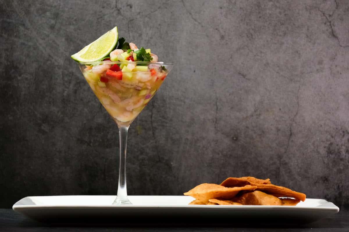 Florida Rock Shrimp Ceviche