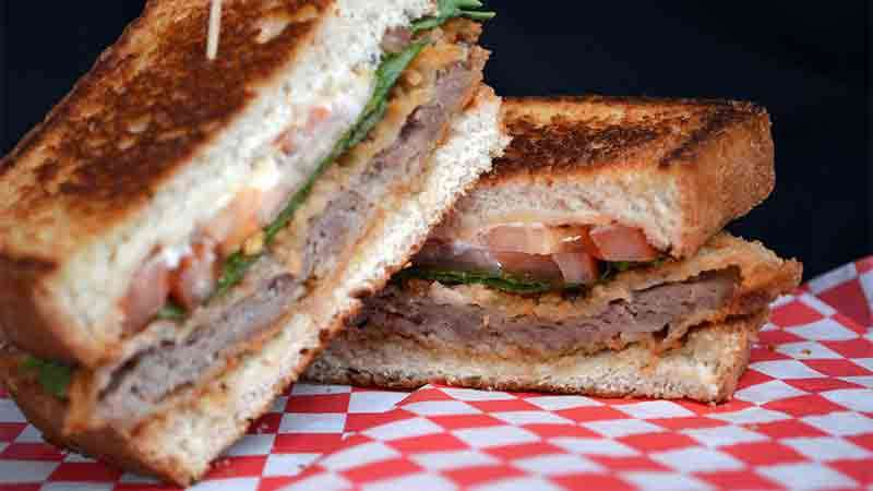 Southern Fried Steak Sandwich