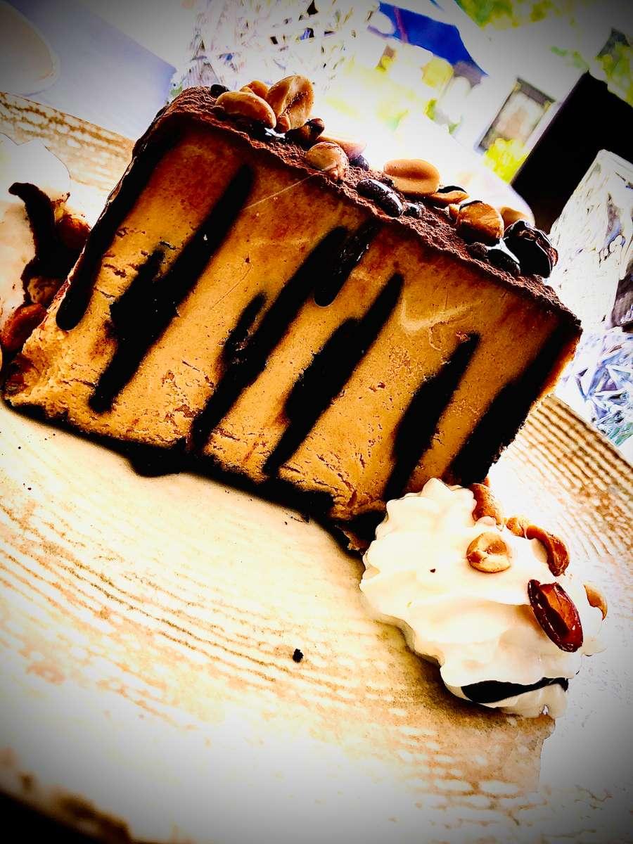 Chocolate Peanut Butter Banana Ice Box Cake