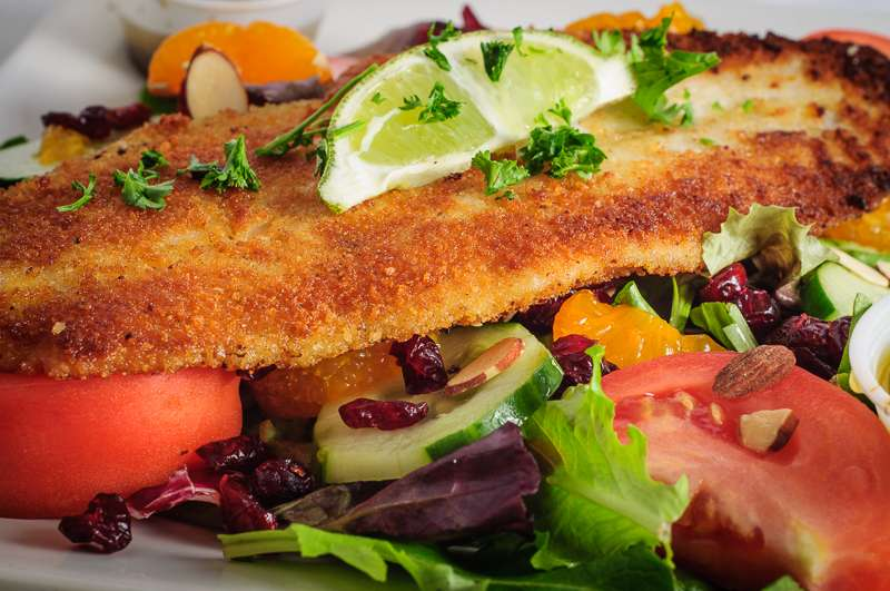 Grilled Mero Salad