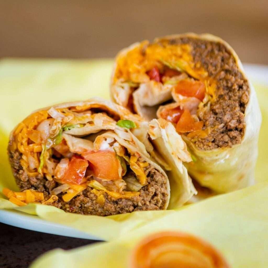 Beef Burrito Supreme