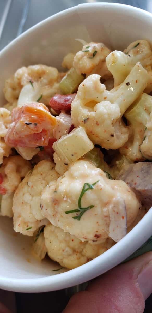 Cauliflower No-Potato Salad