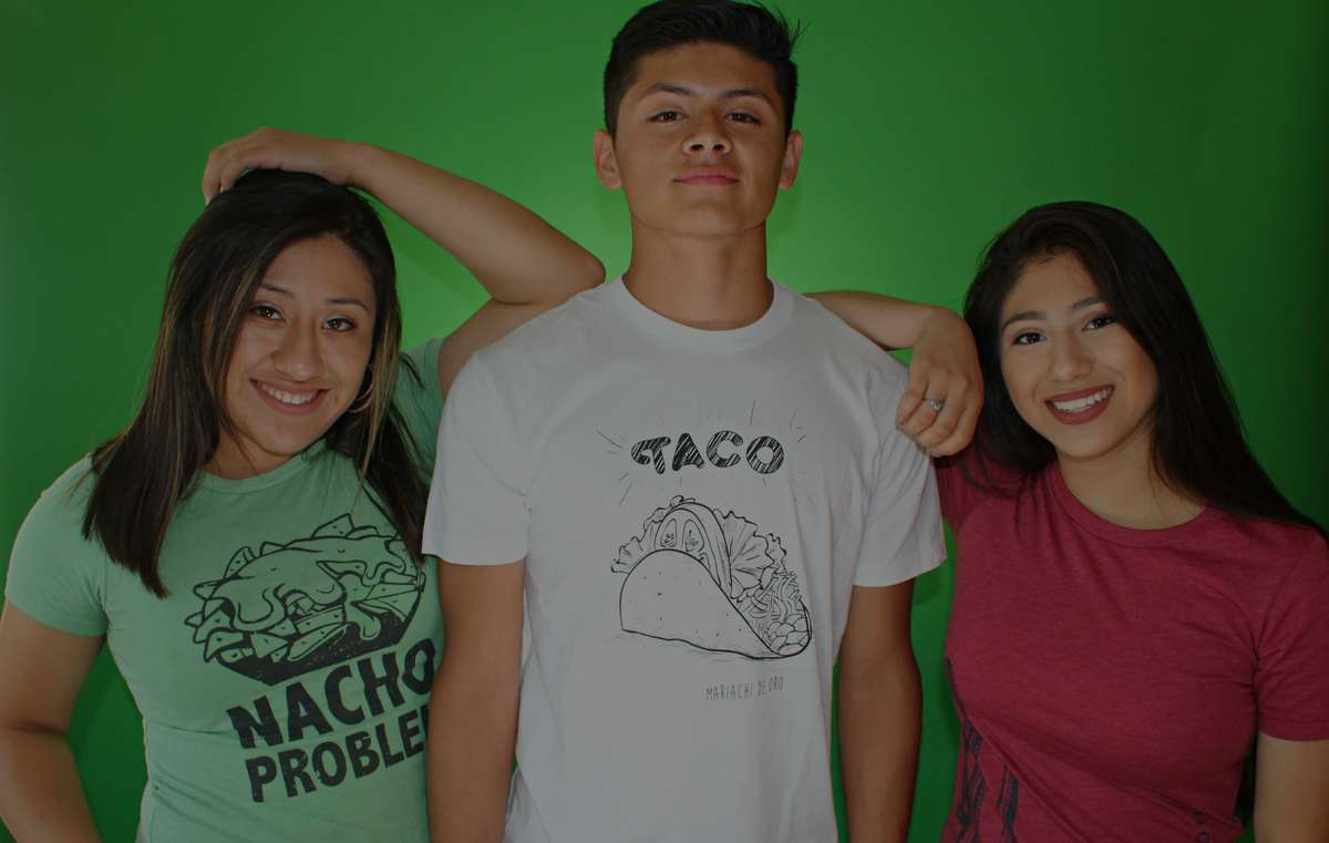 t-shirts with Mexican food puns