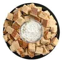 Rye Bread Dip Platter