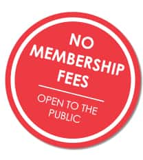 no membership fees