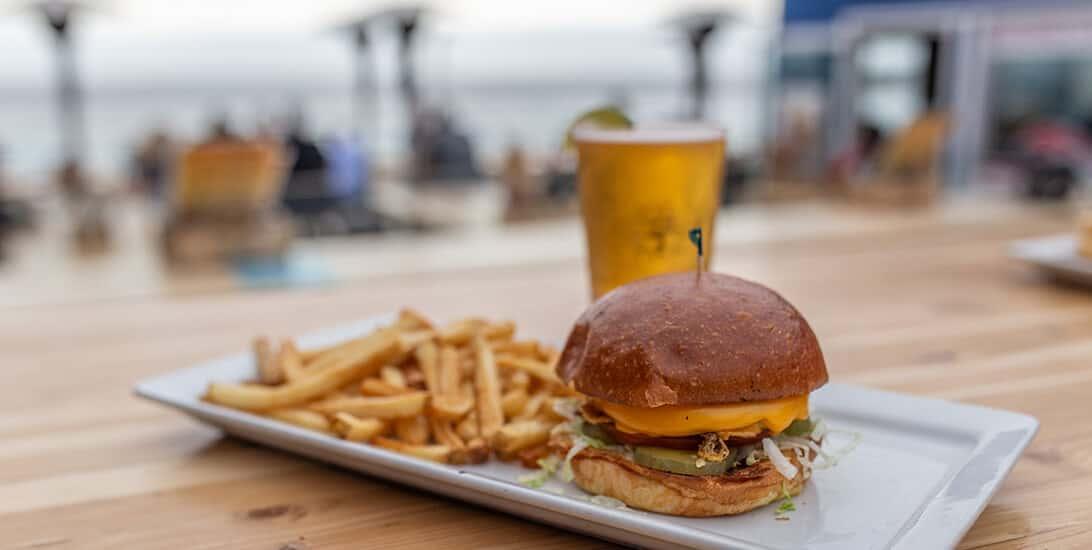 Shore Classic Burger