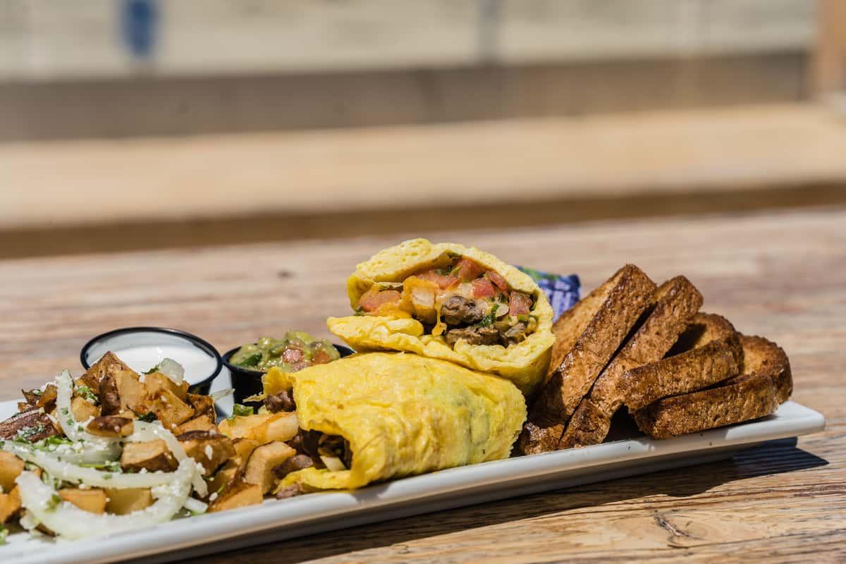 Cali-Burrito Omelette