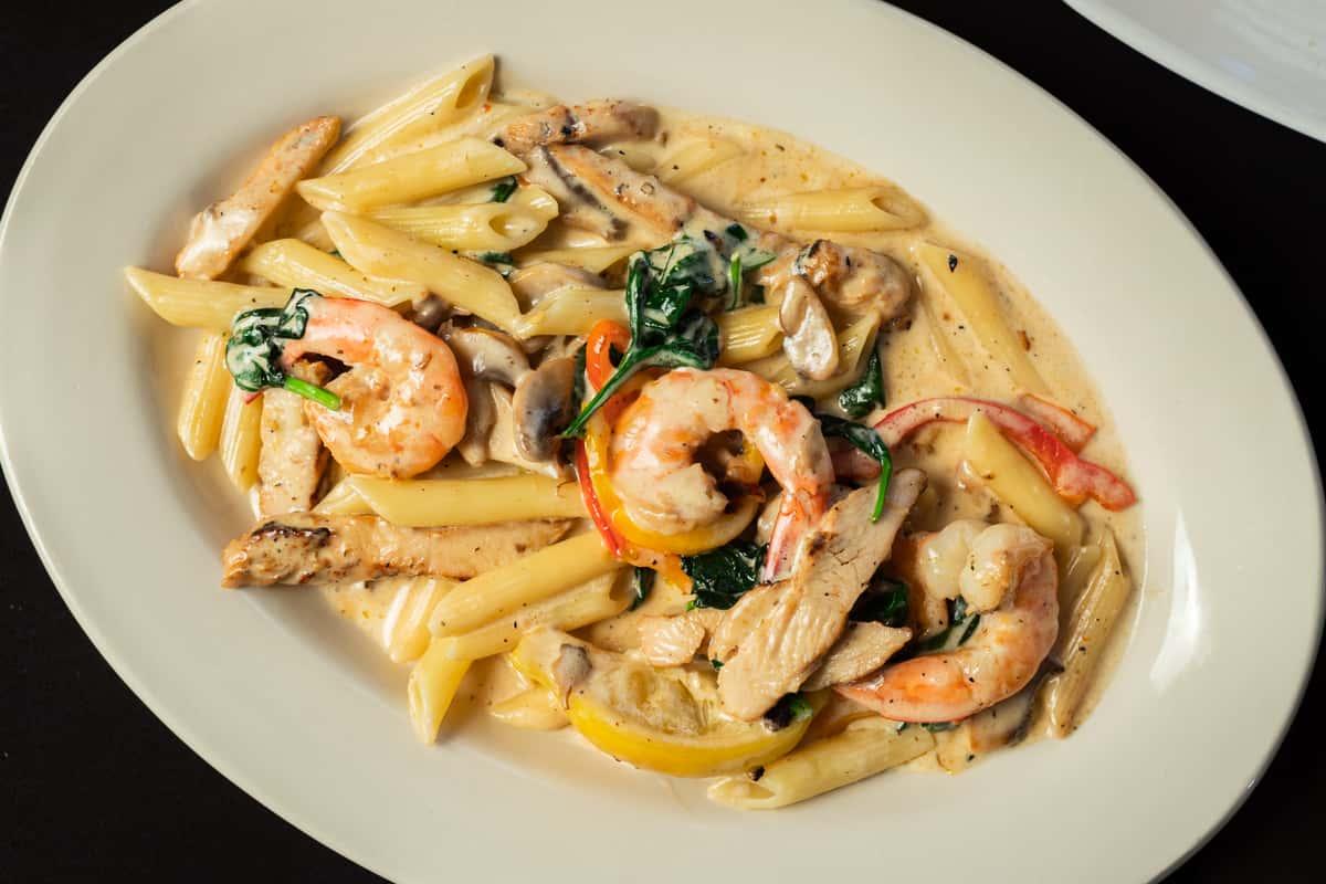 Chicken & Shrimp Fiorentina