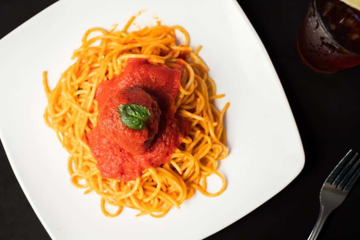 Family Spaghetti with Meatballs