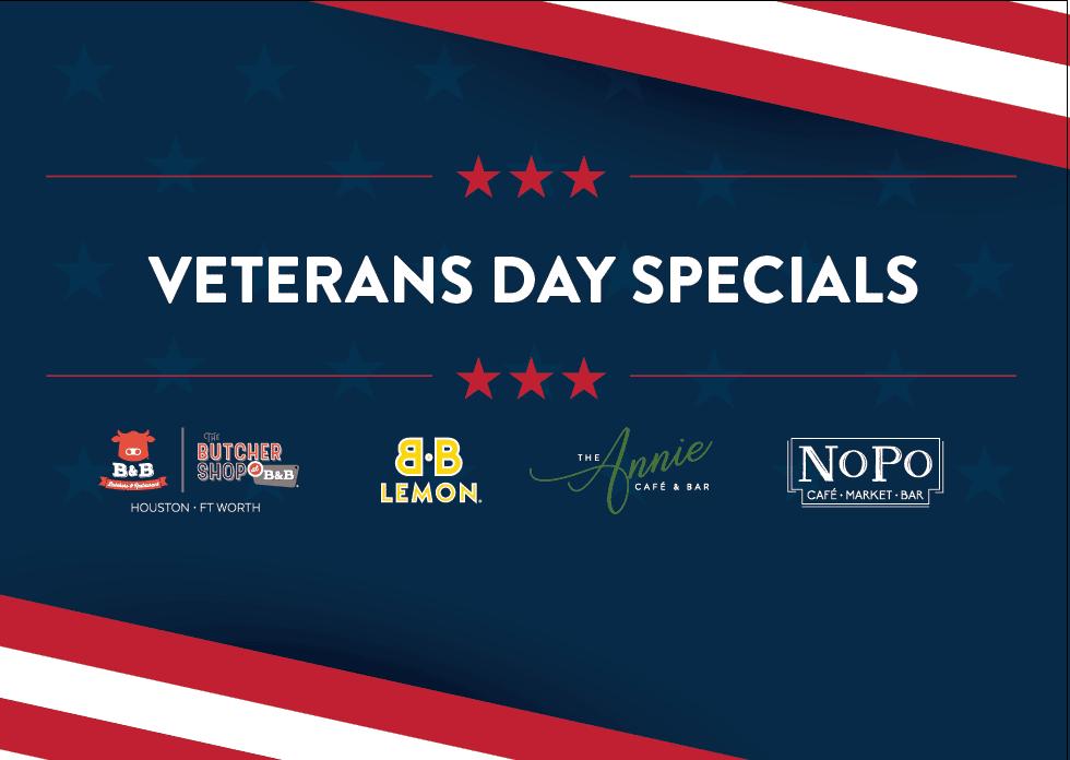 veterans day special logo