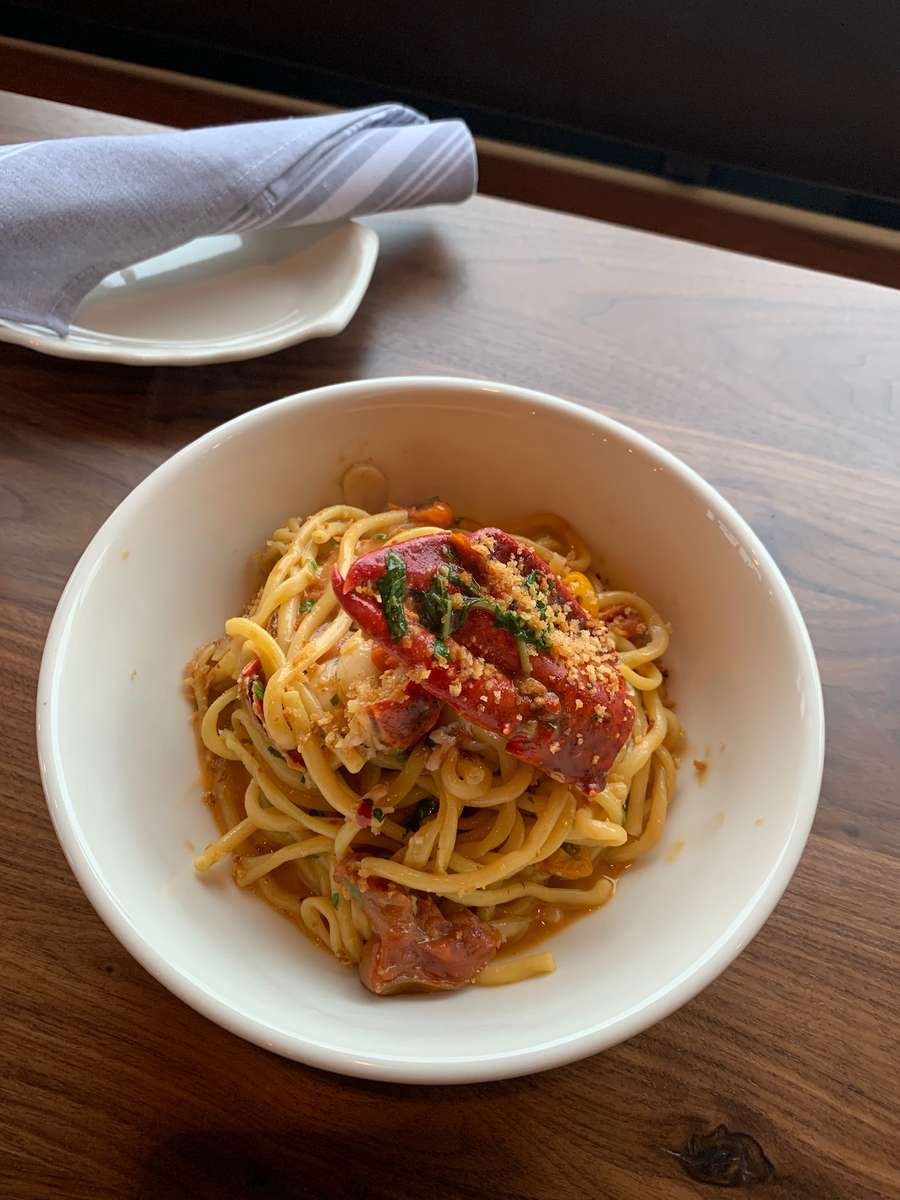 Lobster Fra Diavolo with Bucatini