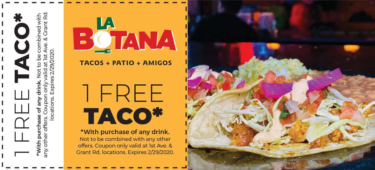 Free Taco Offer