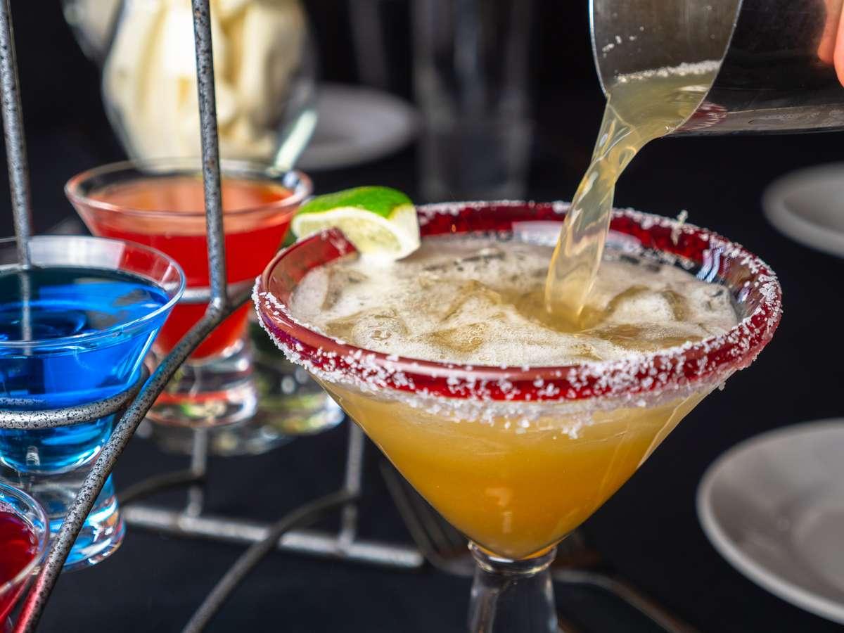 Frozen Daiquiris, Coladas and Margaritas