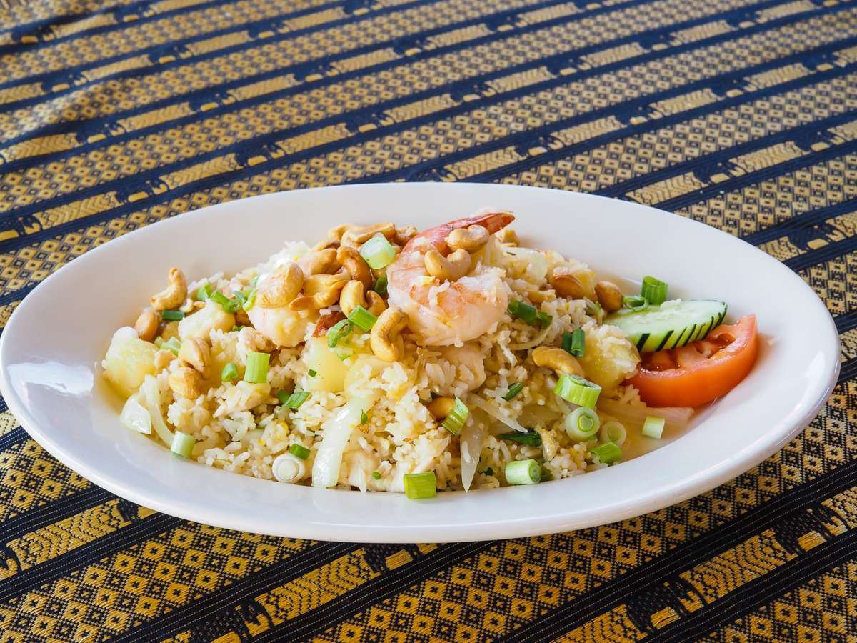 47. Pineapple Fried Rice
