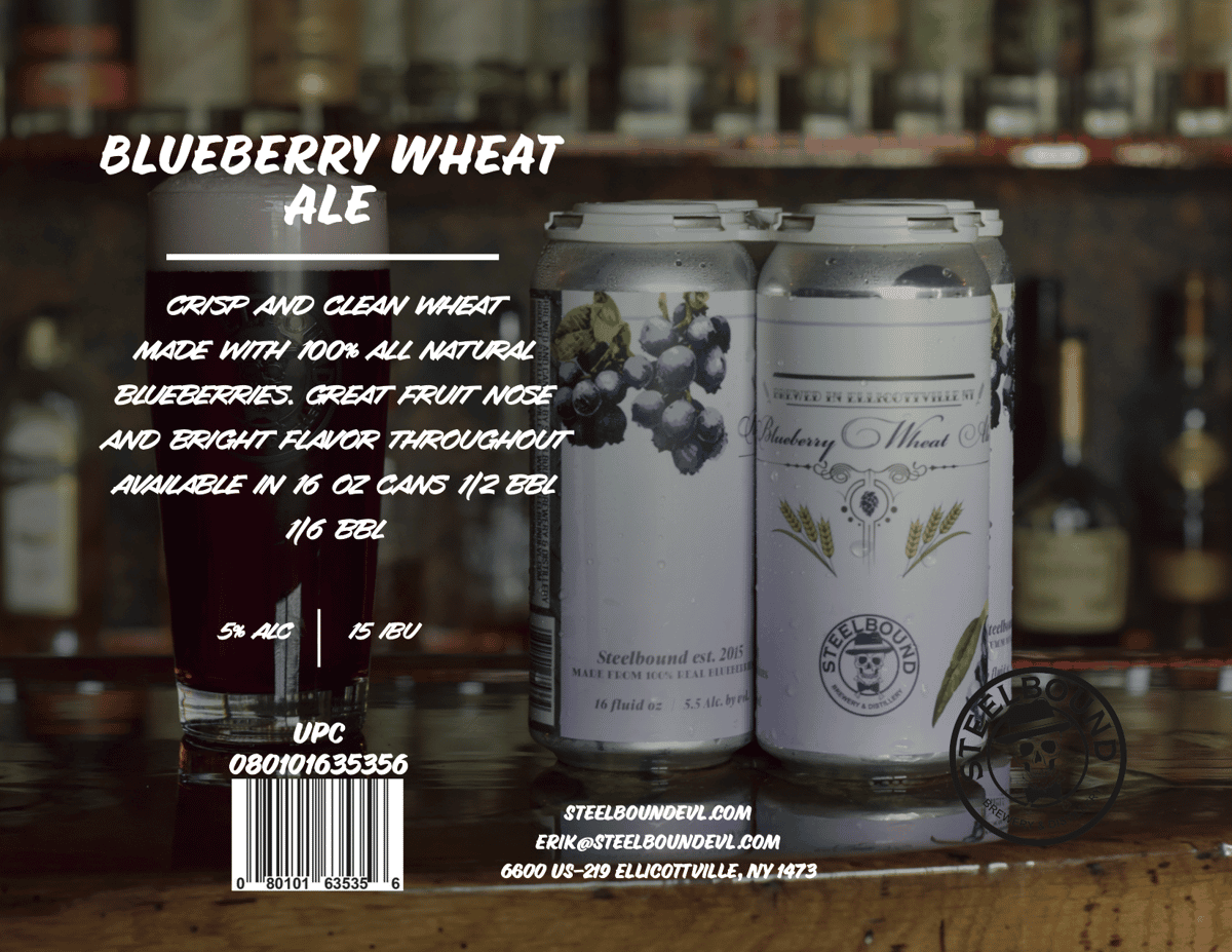 Blueberry Wheat Ale