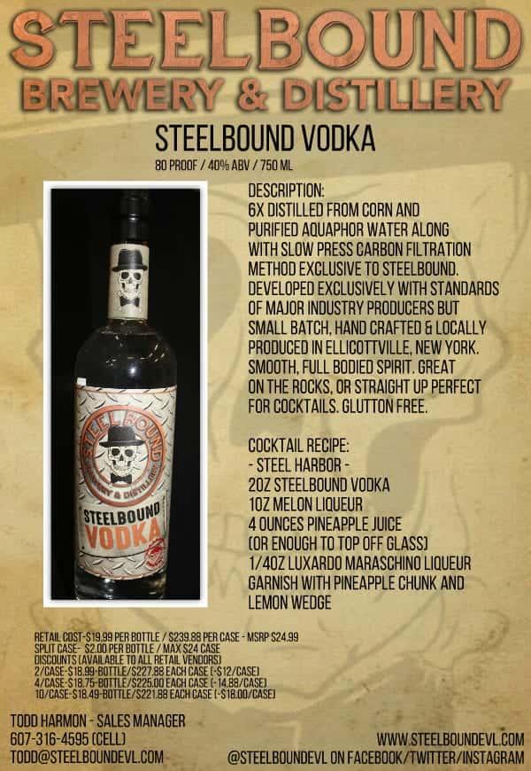 Steelbound Steel Series Vodka