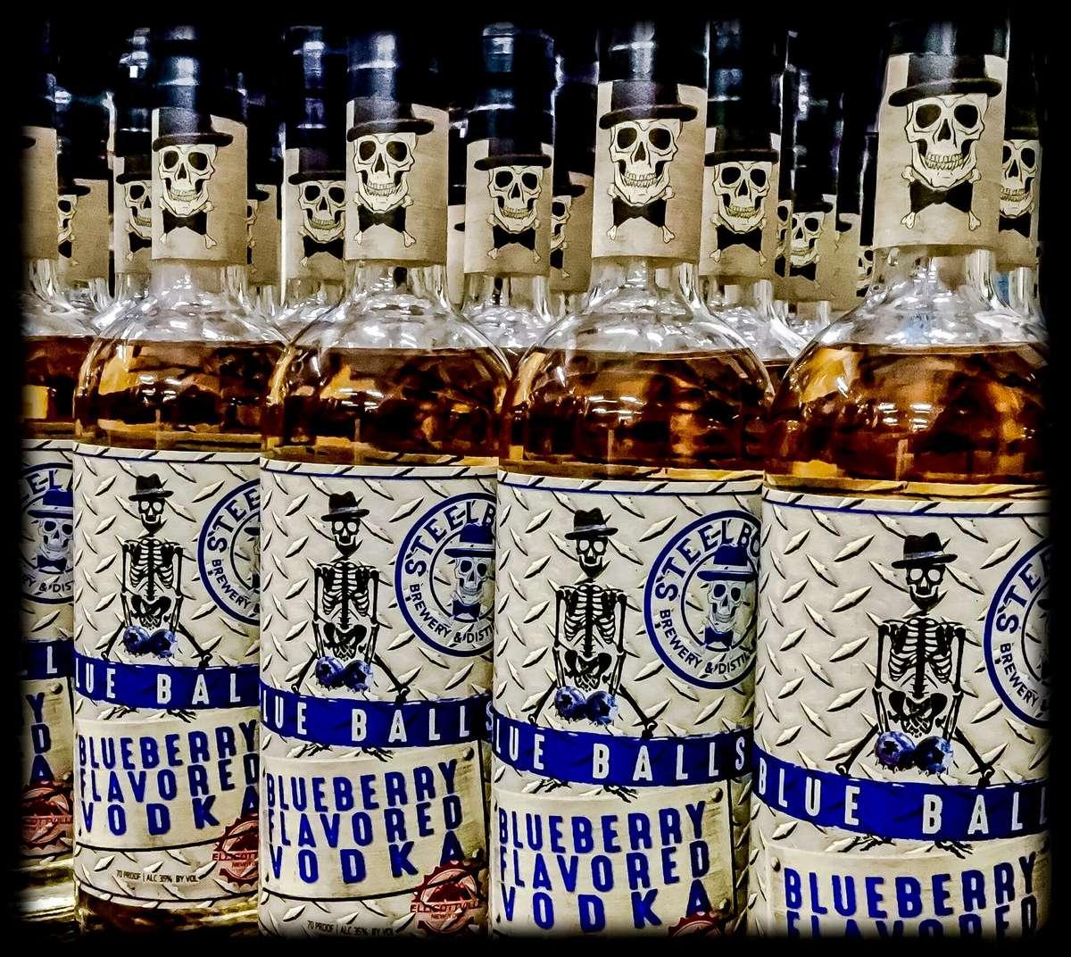 Steelbound Blue Balls Blueberry Vodka