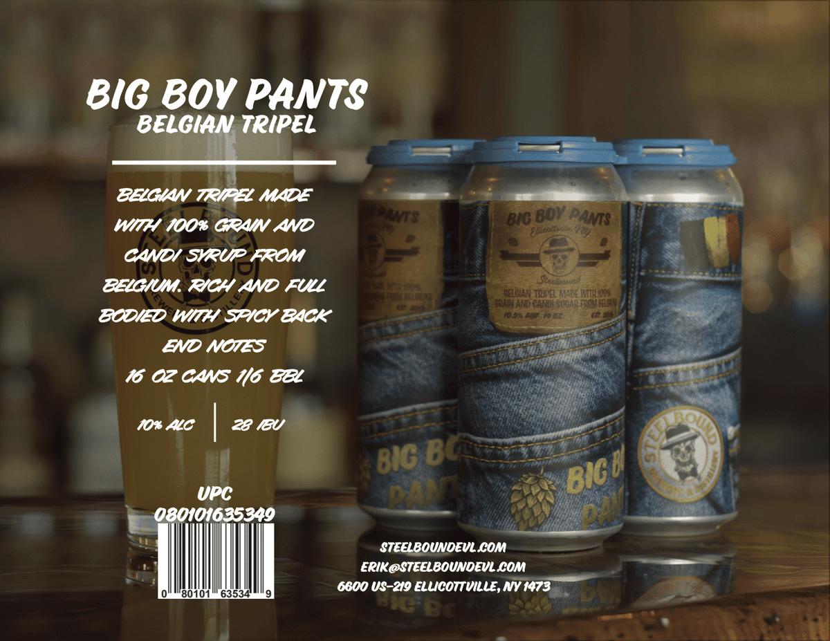 Big Boy Pants Belgian Tripel