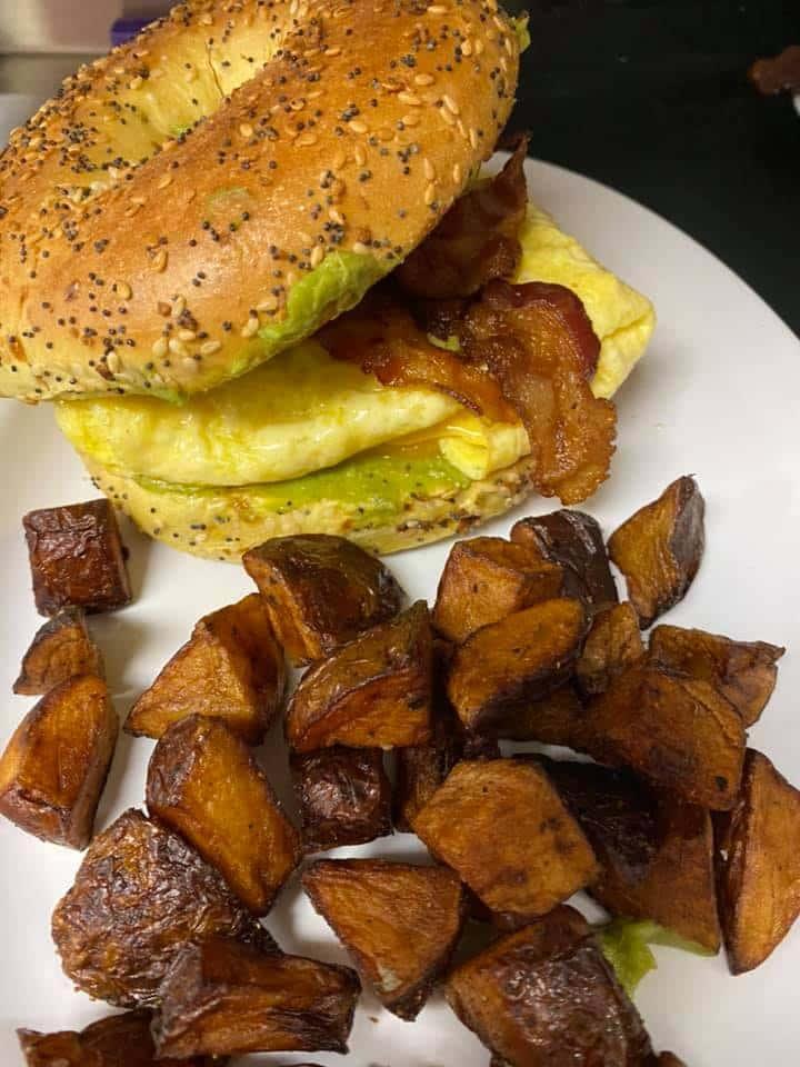 Avocado, Bacon & Egg Sandwich