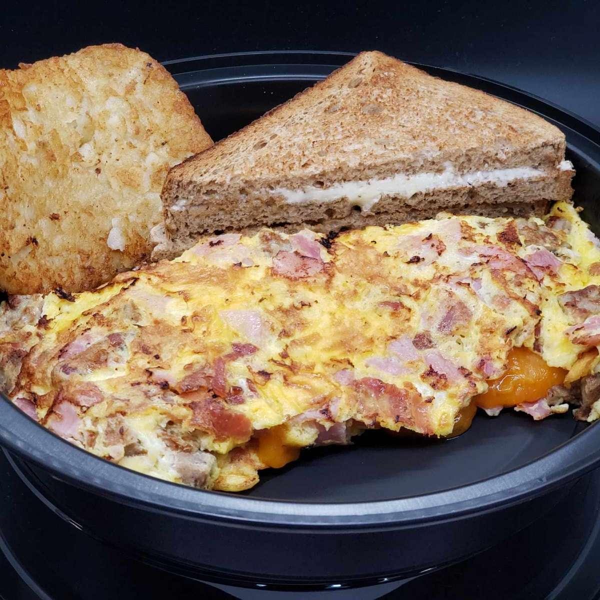 Meat Lovers Omelette