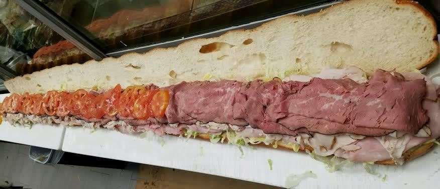Catering order sandwich