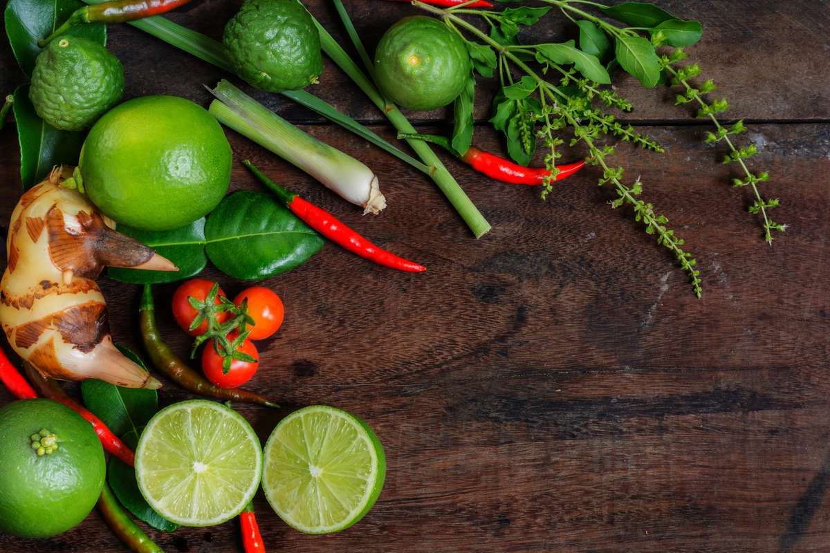 peppers and lime