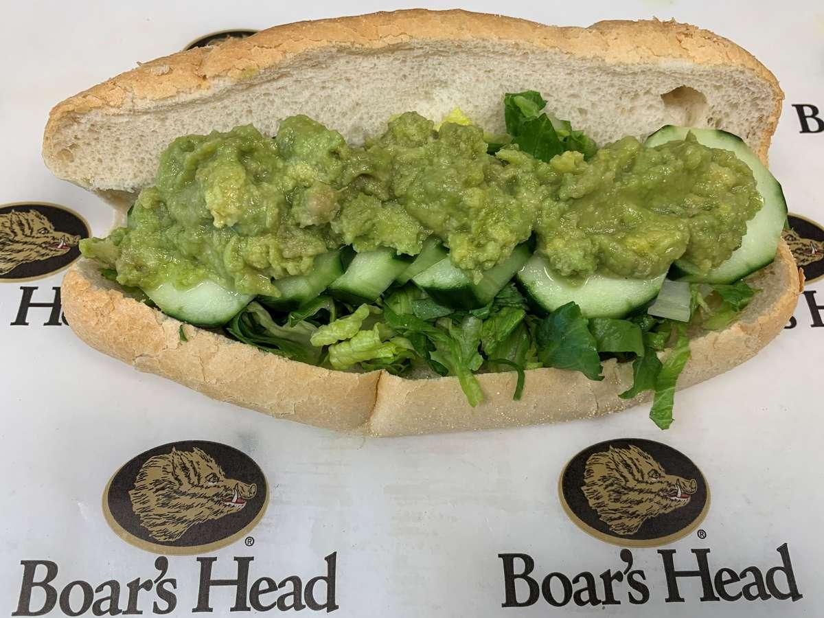 Avocado Salad Sandwich