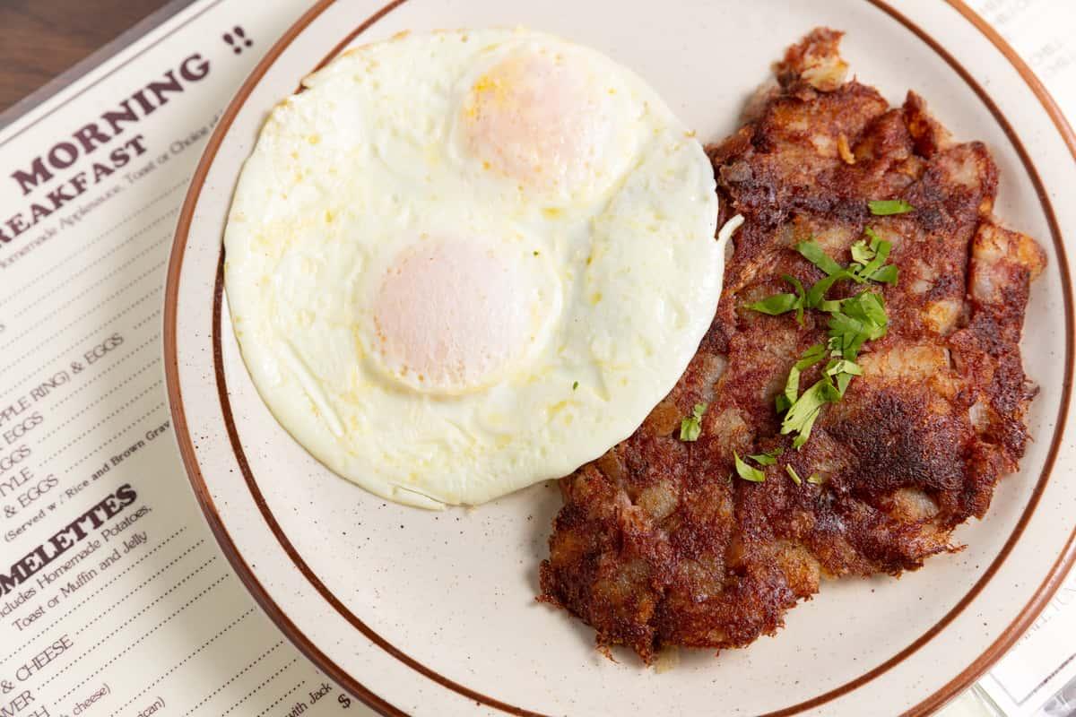 Homemade Hash & Eggs