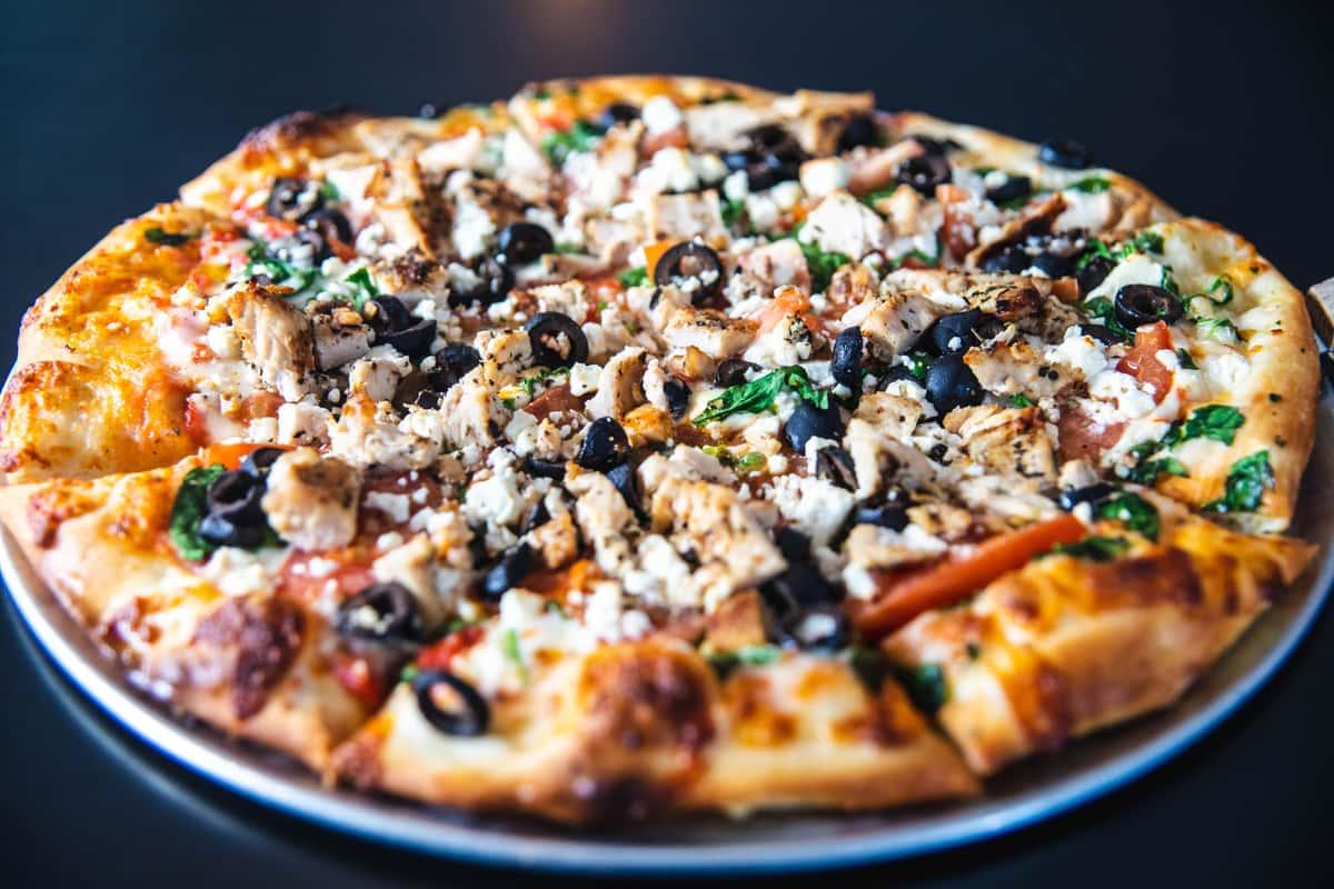med pizza