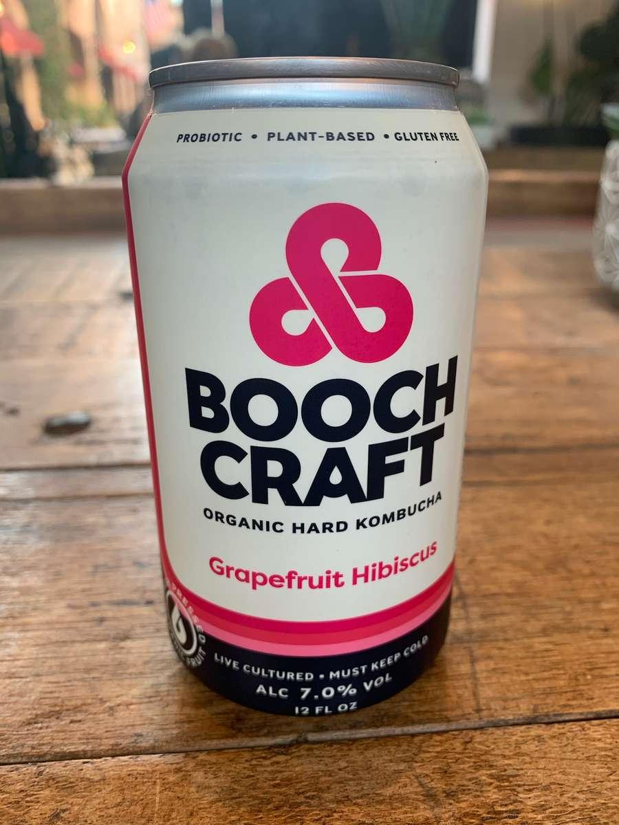 Booch Craft Grapefruit Hibiscus