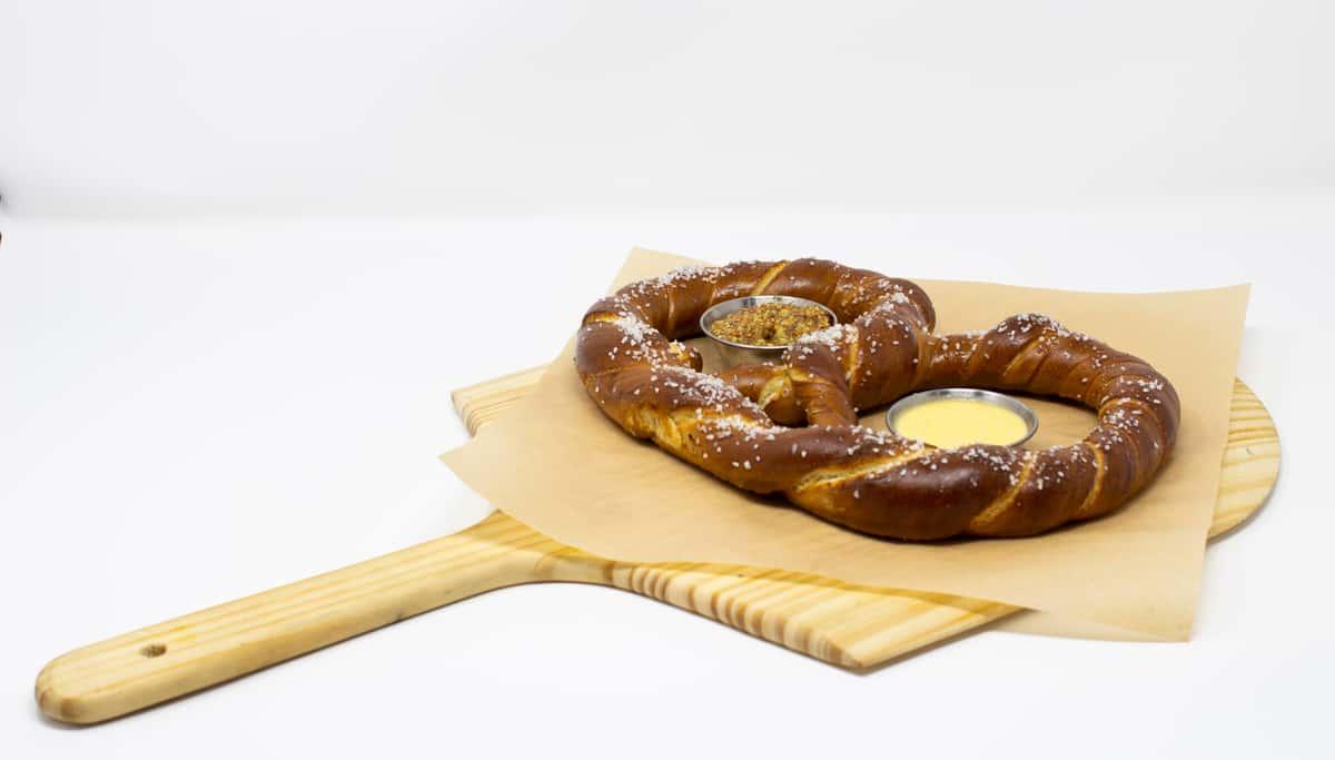Bavarian Pretzel + Beer Cheese