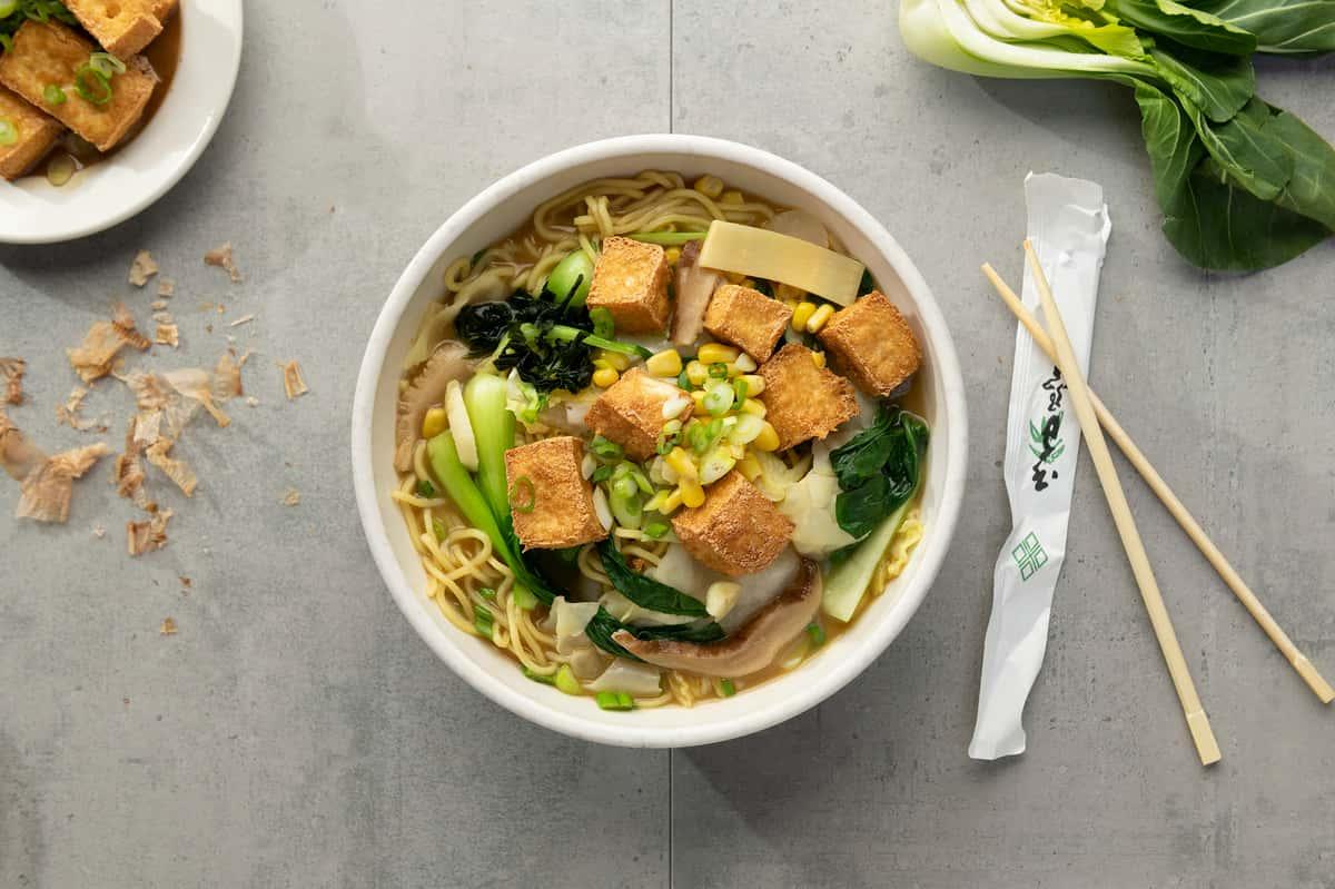 6V: Tofu Miso Ramen