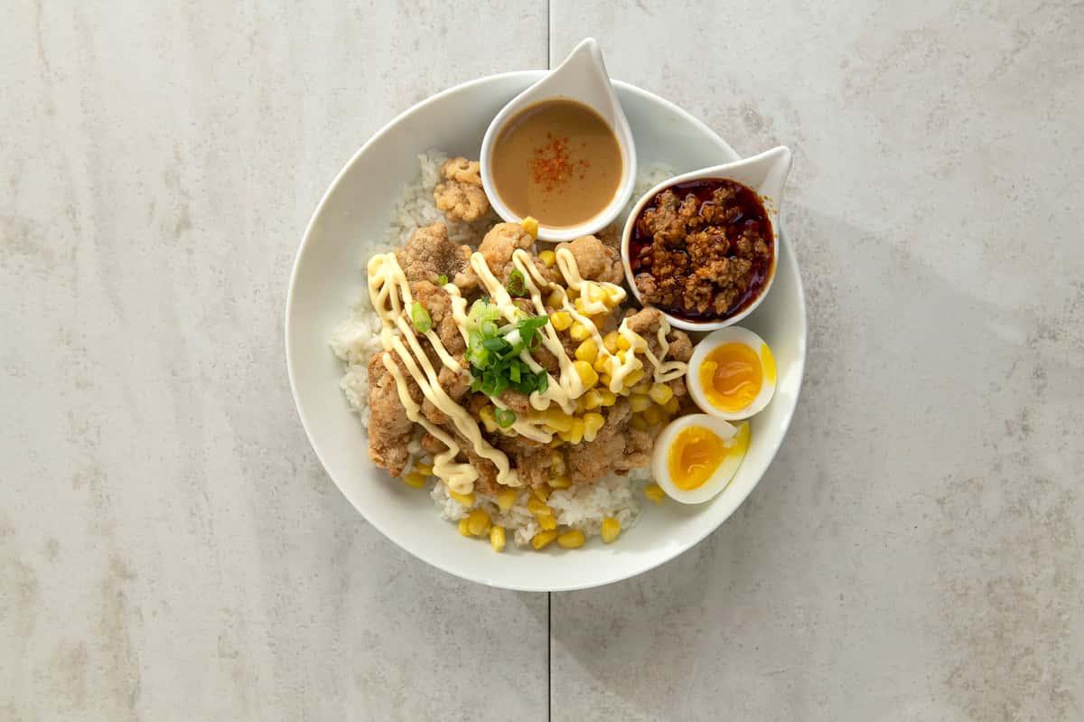 D5: Chicken Karaage-don